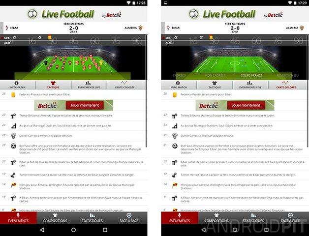 meilleure application paris sportifs android betclic live football