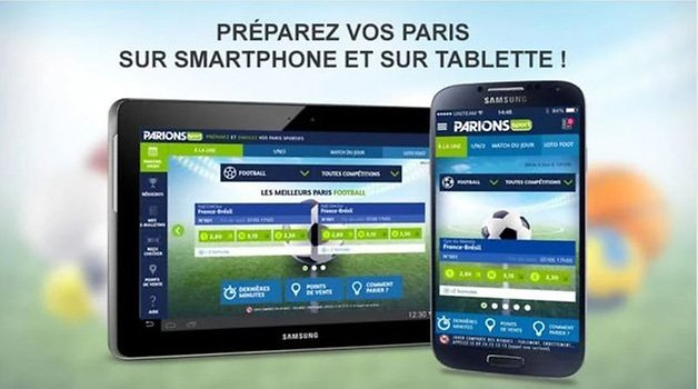 meilleure application paris sportifs android parionssport