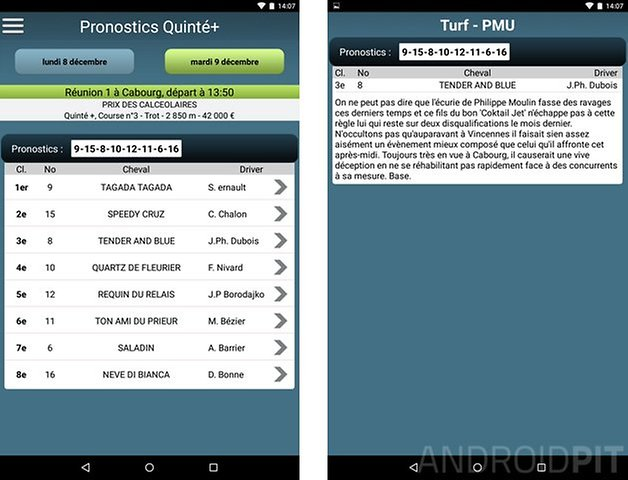 meilleure application paris sportifs android pronosoft 2