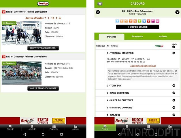 meilleure application paris sportifs android turfoo