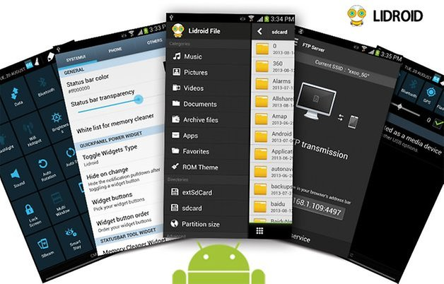 meilleure rom custom galaxy s4 lidroid