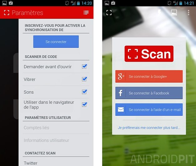 meilleures applications code qr android scan