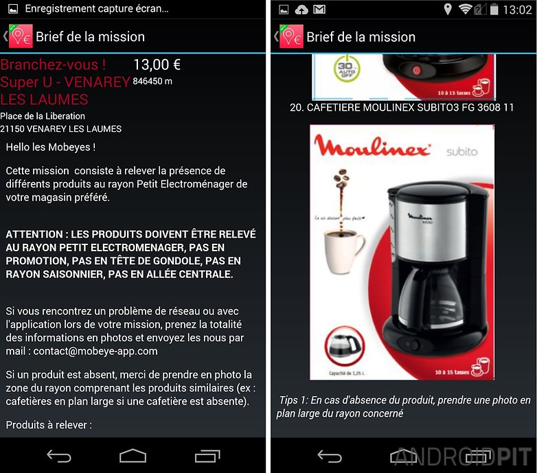 meilleures applications gagner argent mobeye 1