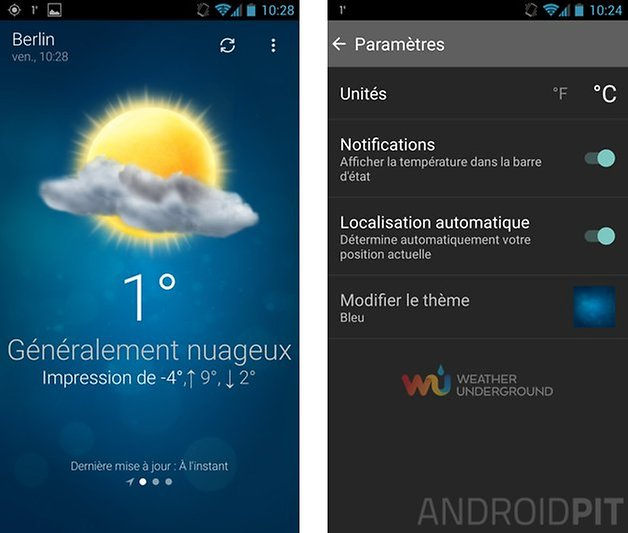 meilleures applications meteo android meteo weather
