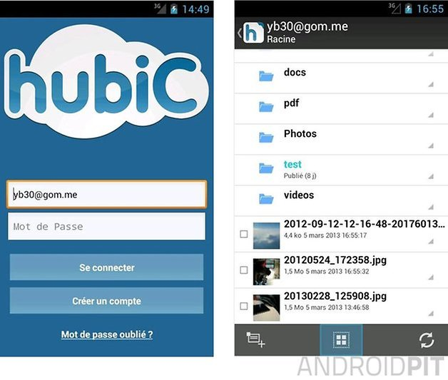 meilleures applications service cloud android hubic ovh