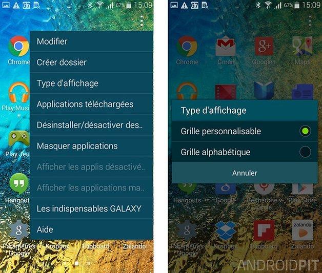meilleures trucs et astuces samsung galaxy alpha classer apps