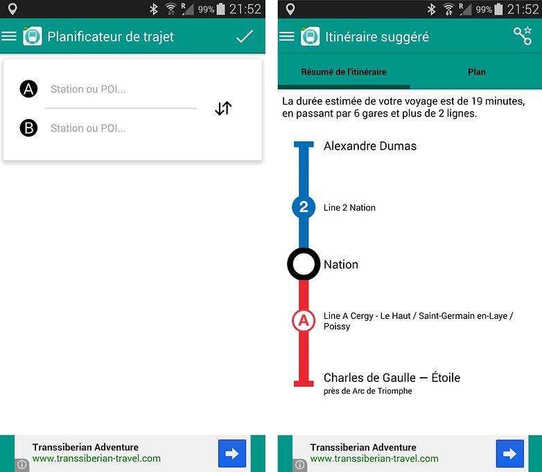 meilleurs applications transport paris metro ratp 2