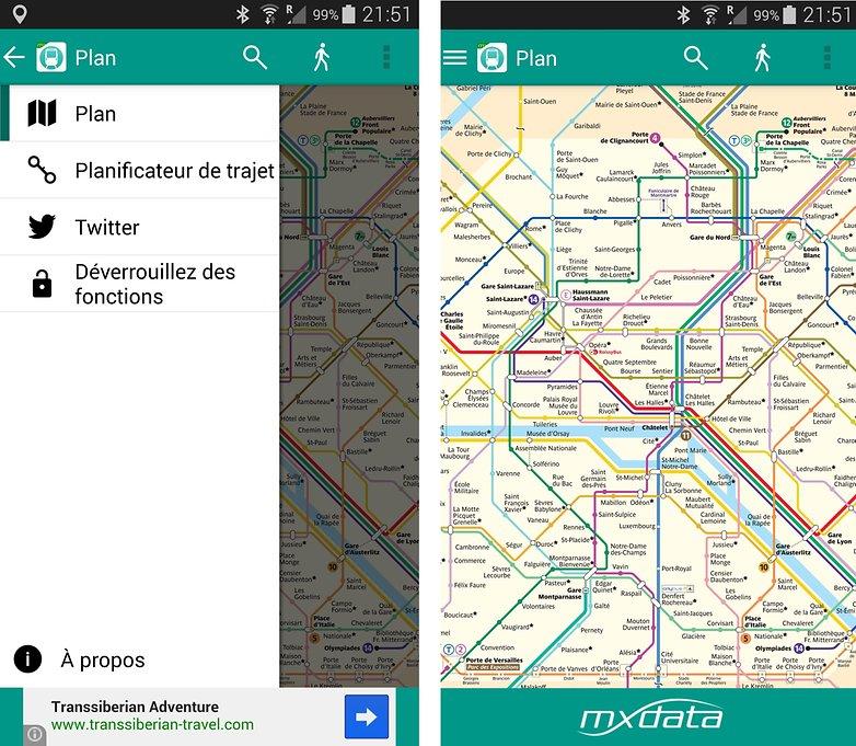 meilleurs applications transport paris metro ratp