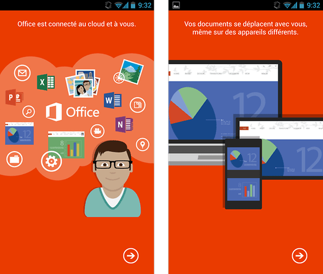 Google play store microsoft office est d sormais gratuit sur android androidpit - Office tablette android gratuit ...