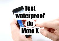 Test vidéo : le Moto X est-il waterproof ?