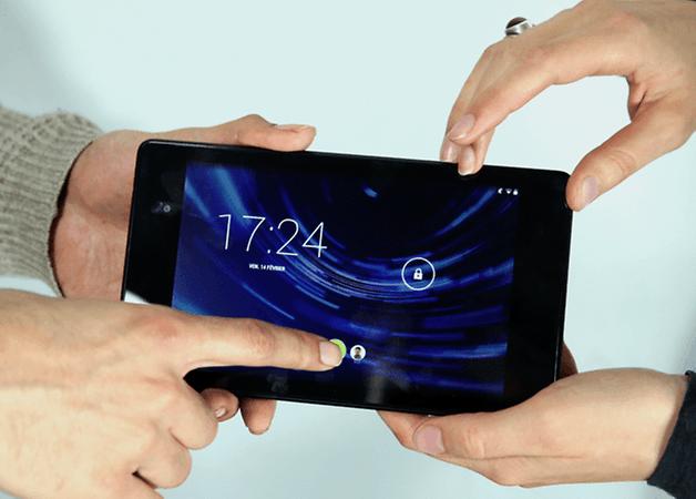 multi utilisateur android tablette teaser E