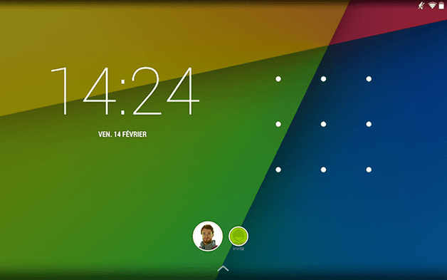 multi utilisateur android verrouillage
