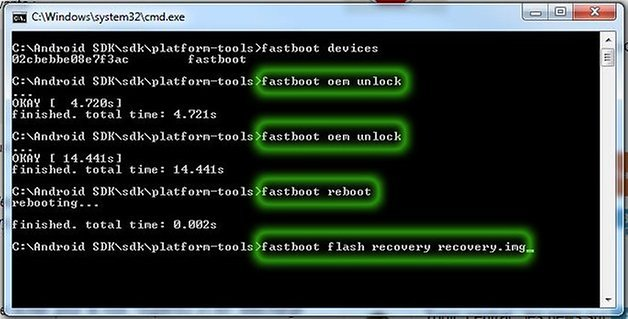 nexus 5 root fastboot flash recovery
