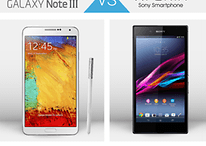 Duel Android : Samsung Galaxy Note 3 contre Sony Xperia Z Ultra