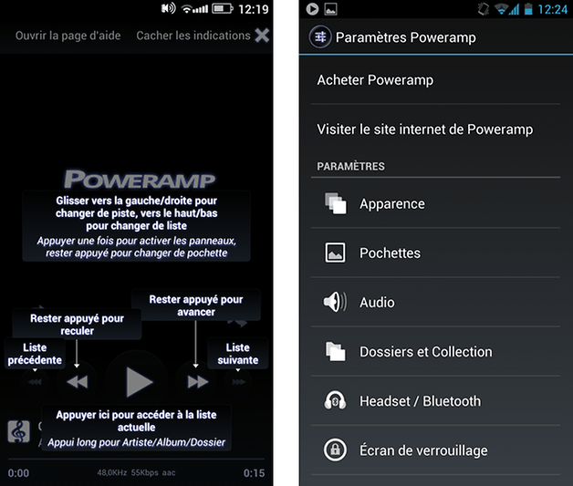 poweramp android test 1