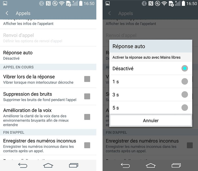 reponses automatiques android 2
