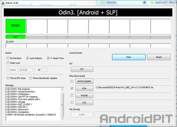 Tutoriel : root du Samsung Galaxy S GT-i9000 | AndroidPIT