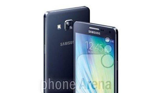 Samsung Galaxy A3, Galaxy A5 et Galaxy A7 en photos officielles