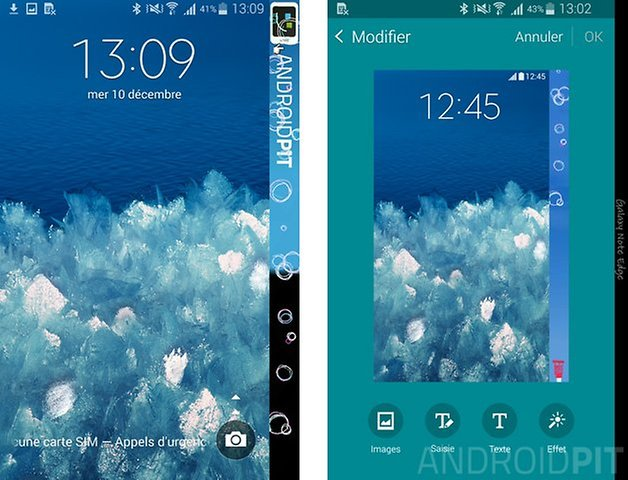 samsung galaxy note edge lockscreen