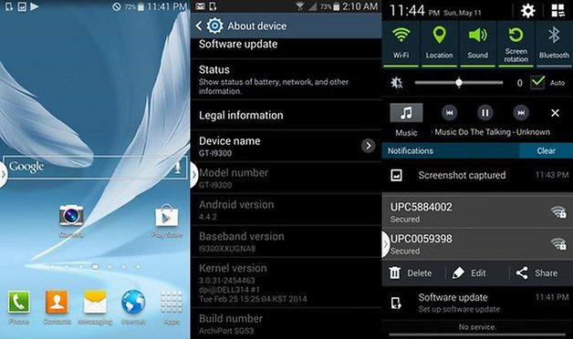 samsung galaxy s3 android4 4 3 kitkat firmware