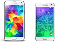 Samsung Galaxy Alpha vs Galaxy S5: looks or muscle?