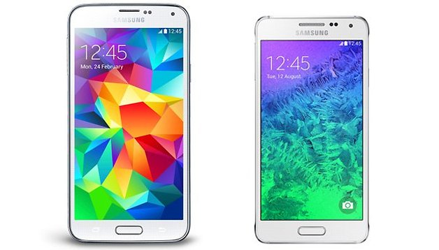 Galaxy Alpha vs. Galaxy S5: il primo confronto