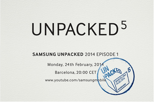 samsung galaxy s5 unpacked