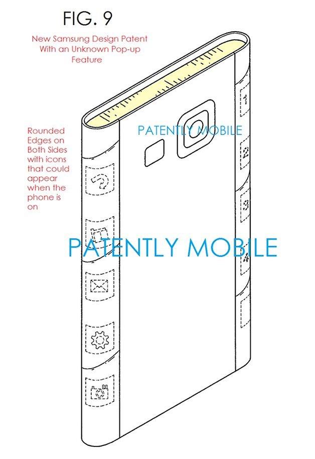 samsung galaxy s6 patent leak dual edge