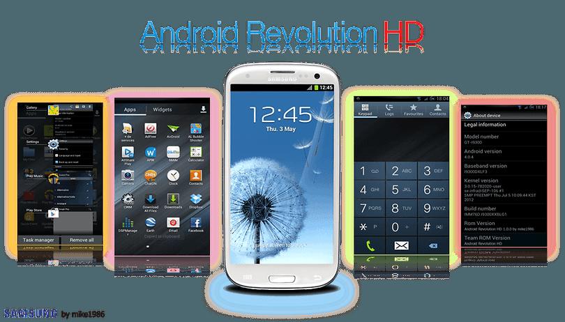 Top 5 des roms customs pour le Samsung Galaxy S3