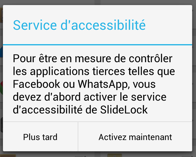 slide lock ios iphone android 2