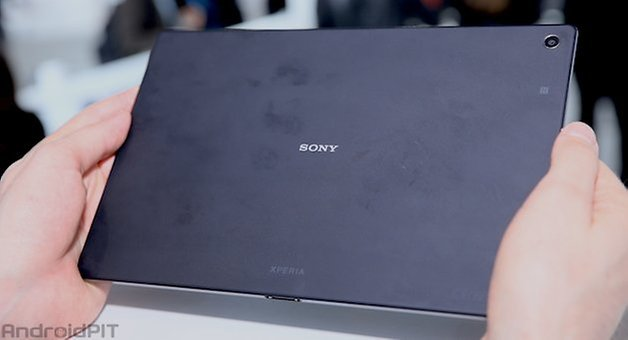 sony xperia z2 tablet back