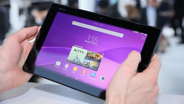 sony xperia z2 tablet screen 0