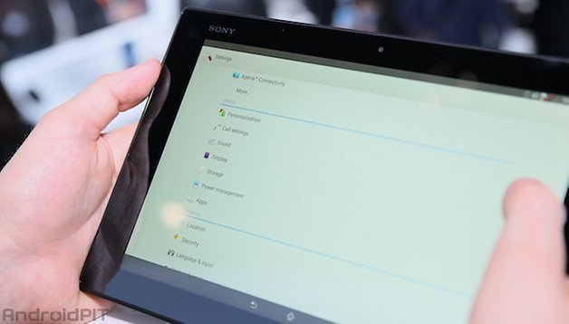 sony xperia z2 tablet screen 3