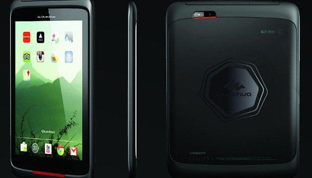 Les smartphones tout terrain Quechua par Decathlon