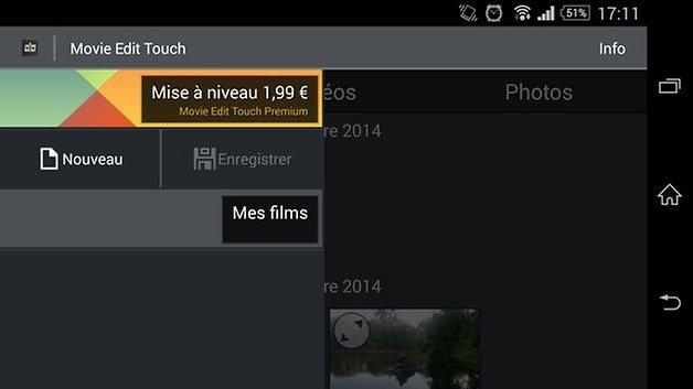 test app movie edit touch 2
