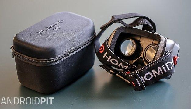 Test du casque de réalité virtuelle Homido VR