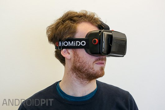 test casque realite virtuelle homido vr 5