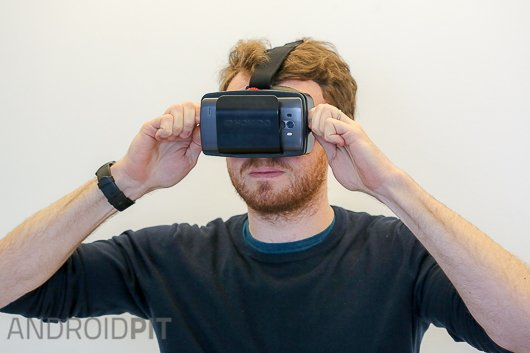test casque realite virtuelle homido vr 6