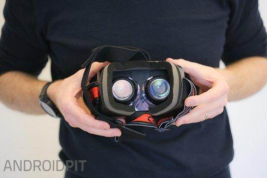 test casque realite virtuelle homido vr 8