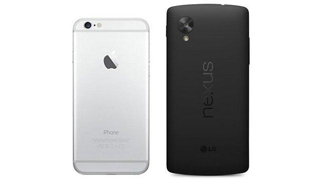 iPhone 6 vs. Nexus 6: a comparação que todos querem ver