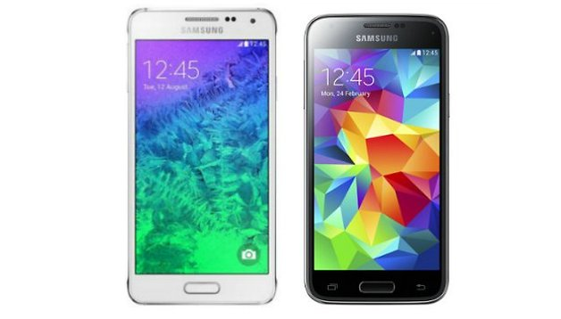 Test comparatif : Samsung Galaxy Alpha vs Galaxy S5 Mini