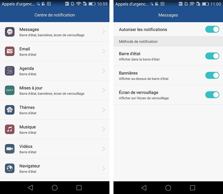 test complet huawei ascend p8 systeme 4