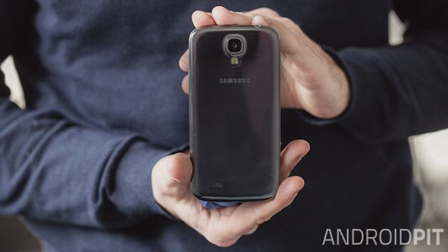 test samsung galaxy s4 back