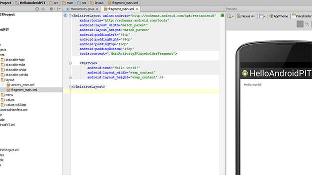 tutoriel developpeur android 1