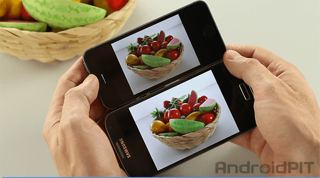video galaxy s4 vs iphone 5s