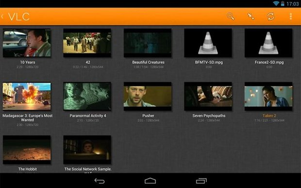 vlc player android