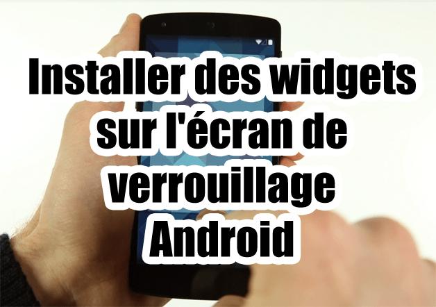 comment installer le verrouillage android