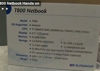 Android Netbook ECS T800