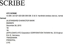 HTC Scribe als Marke eingetragen