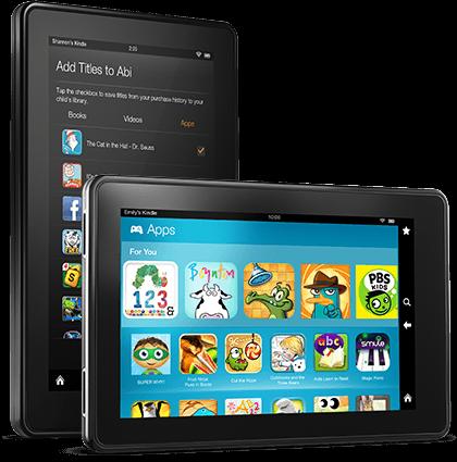 Amazon Kindle FreeTime Unlimited Service